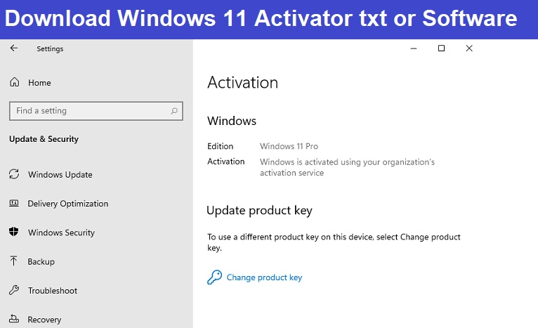 Read more about the article Windows 11 Activator txt – Software to Activate Windows 11- KMS Pico